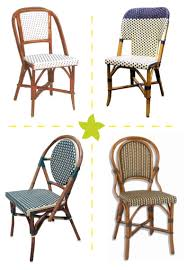 Navy Bistro Chairs Ooh La La Patio Pinterest Rattan Dining And Patios