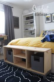 Where Is Ikea Furniture Made by Diy Bench With Storage Compartments Ikea Nornas Look Alike