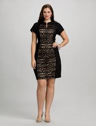plus size dresses cocktail dresses plus size lace panel