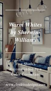 what is the best sherwin williams white paint for kitchen cabinets warm whites by sherwin williams recommended by a color