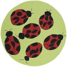 Ladybug Area Rug 8 Area Rug Ladybugs From The Nursery To The