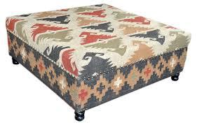 furniture kilim ottoman leather storage ottomans sale round