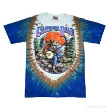 Steal Your Face Flag Grateful Dead Banjo Tie Dye T Shirt Styling Griffin Pinterest