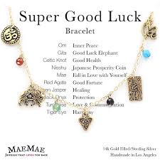 gold lucky charm bracelet images Maemae jewelry super good luck bracelet charm bracelet jpg