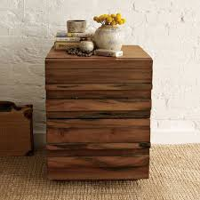 stria nightstand honey west elm