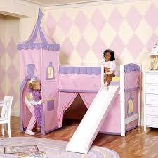 Kids Bedroom Engaging Picture Of Girl Pink Bedroom Design And - Pink bunk beds for kids