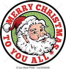 circle clipart merry christmas pencil and in color circle