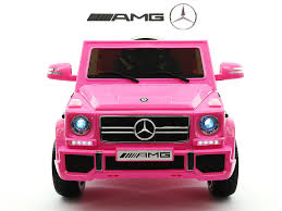 pink mercedes truck magic cars my first pink electric mercedes g rc ride on car for