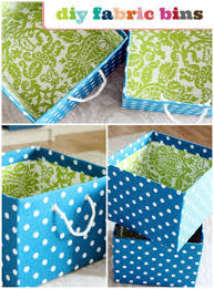 Decorative Cardboard Storage Boxes Home Organization Step By Step How To Cover Storage Boxes In Fabric Crafty