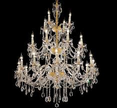 Expensive Crystal Chandeliers by Grand Light