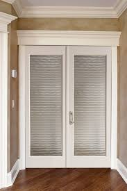 Trustile Exterior Doors Decor Exterior Door Using White Mahogany Wood Frosted