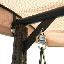 Sonoma Canopy by Replacement Canopy For Wilson Fisher Sonoma Resin Wicker Swing