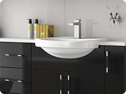 shades bathroom furniture shades bathrooms aspen black fitted bathroom furniture