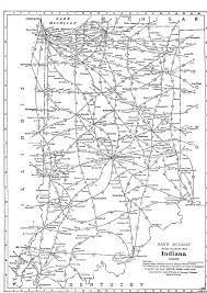 indiana map us p fmsig 1948 u s railroad atlas