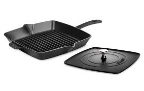 staub black friday staub square grill pan u0026 panini press 12 inch matte black