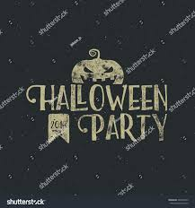 halloween sign templates halloween 2016 party label template pumpkin stock vector 448502929