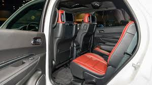 Dodge Durango Srt - 2018 dodge durango srt interior autosdrive info