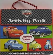 disney boxset activity cars disney cars acceptable book