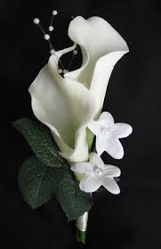 touch calla corsage made for you
