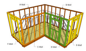 Backyard Sheds Plans by L Shaped Shed Plans Shed Plans Free