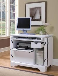 Espresso Computer Armoire by Desks With Storage For Small Spaces Amys Office