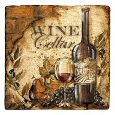 Beverage Coasters Wine Cellar Ii Beverage Coasters By Tre Sorelle Studios Set Of 12