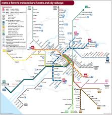 Map Of Metro In Rome by Subway Metro And Buses In Rome Rome Visit