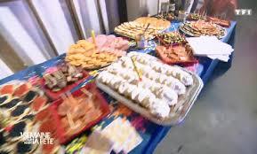 emission tf1 cuisine emission tf1 une semaine pour faire la fete soirée fête diner