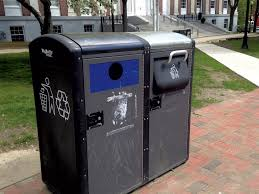 what u0027s with burlington u0027s solar powered trash cans seven