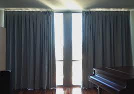 simple blue linen bedroom blackout curtains with blackout linen
