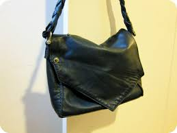 Upcycled Leather Bags - lemmemakeit upcycled leather jacket tote bag