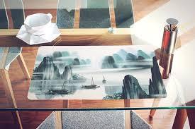large plastic table mats nish decorative table mats acrylic japanese painting nish