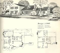 vintage house plans early colonial vintage floorplans