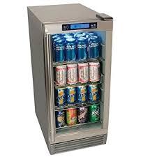 Glass Door Beverage Refrigerator For Home by Amazon Com Edgestar Obr900ss Outdoor Beverage Refrigerator 84 Can