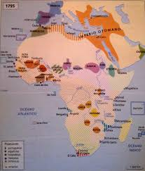 Political Map Of Africa by Political Map Of Africa Before The Scramble For Africa 1795