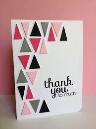 simple handmade thank you card designs journalingsage