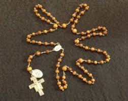 franciscan crown rosary franciscan prayer etsy
