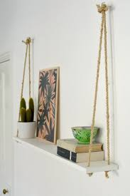 10 upcycled shelves for adding pizzazz to your home decor the rope shelf