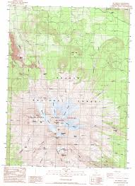 Topographic Map Of Usa by Mount Shasta Topographic Map Ca Usgs Topo Quad 41122d2