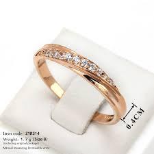 model model cincin cincin tunangan wanita fashion motif taburan batu zirkon swiss