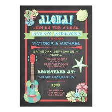 baby shower chalkboard tropical chalkboard luau baby shower invitations zazzle