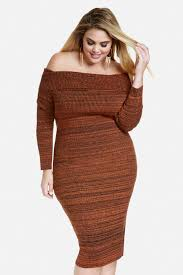 plus size marbled marilyn sweater dress fashion to figure