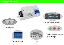how to adjust motion sensor light switch microwave sensor light switch auto induction microwave motion sensor