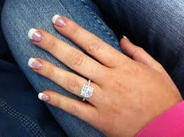 lets see your solitare halo ritani engagement rings weddingbee
