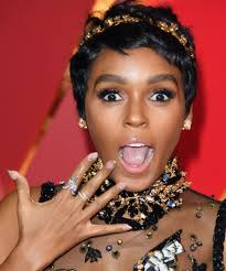 janelle monáe u0027s new super short haircut just won the oscars red
