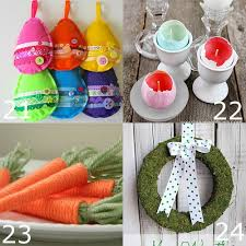 Easter Decorations Diy by Easy Easter Decorations To Make At Home Latest Diy Easy Easter