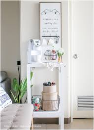 coffee bar or kitchen island shelf oh everything handmade