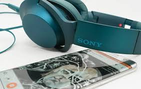 sony home theater headphones sony h ear on mdr 100aap headphones