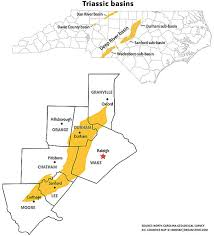North Carolina Map Despite The Dangers Of Fracking North Carolina Lawmakers Want To