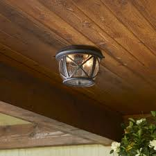 Outside Ceiling Light Fixtures Brilliant Ceiling Mount Porch Light Designs Throughout Outdoor